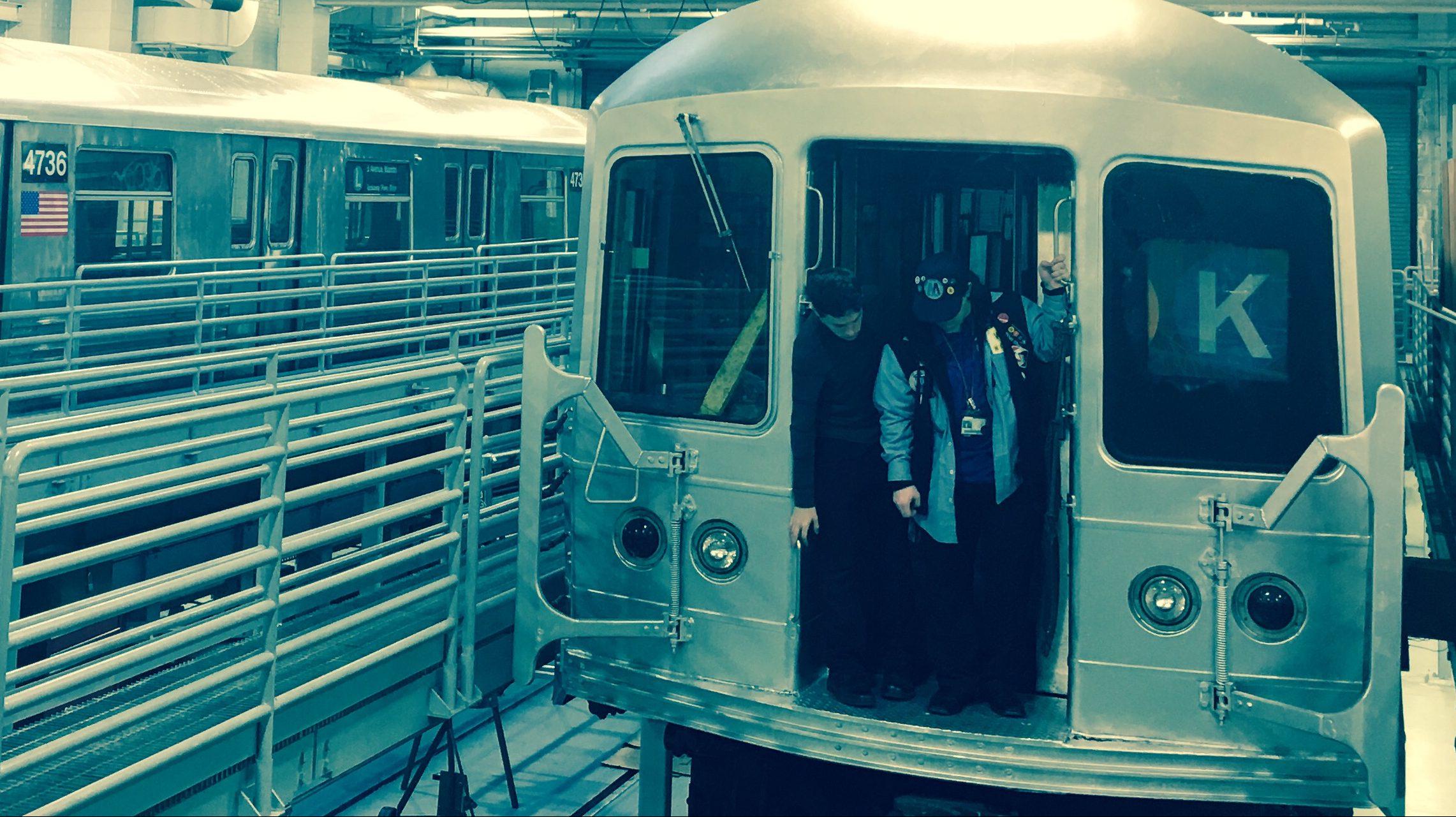 train car lab photo